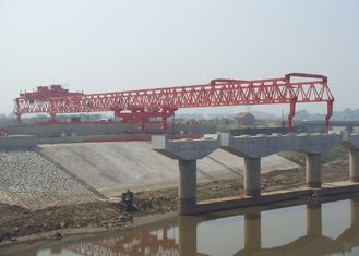 چین JQG280t-55m Beam Launcher gantry crane for highway تامین کننده
