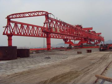 چین JQG 400t-45m span Truss Type Bridge Launcher Girder Crane/ Beam Launcher تامین کننده
