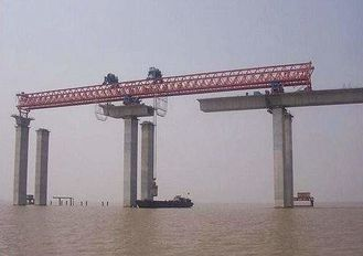 JQG420T-50M Beam launching gantry crane used to launching bridge