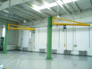 چین Free Standing Slewing Jib Cranes with A Foundation of 3 to 5 Feet Deep تامین کننده