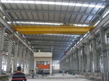 چین QD20t-22m Double Girder Overhead Cranes Travelling with Sturdy Cylindrical Motors تامین کننده