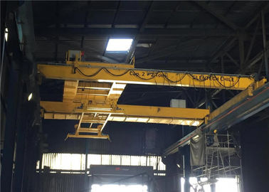 Long Life Double Girder Overhead Cranes , Electric Overhead Travelling Crane
