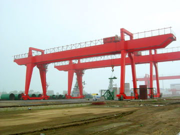 ISO Box Type Double Girder Gantry Crane for Petroleum Industry QM450T - 38M - 28M in Plant