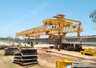 چین Beam Launcher Gantry Crane for railway construction project with Reliable performance کارخانه