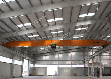 چین 10T Single Girder Overhead Cranes For Factories / Material Stocks / Workshop توزیع کننده