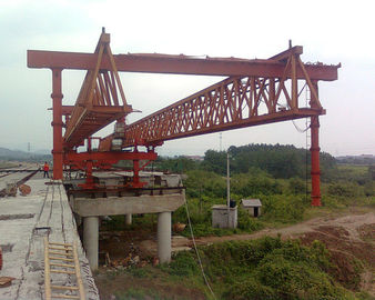 چین JQG 400T-45M Beam Launcher/ Launcher gantry crane for highway/bridge توزیع کننده
