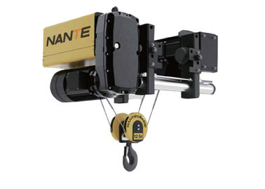 چین 12.5 Ton Low Headroom Hoist For Workshop , Maximum Lifting Height 30m توزیع کننده