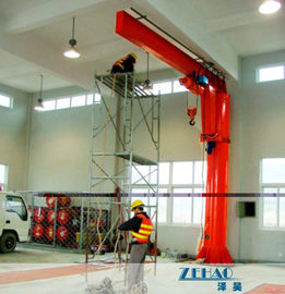چین ISO Approval Slewing Workstation Jib Boom Crane For Plant Building Maintenance کارخانه