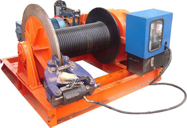 چین 15t Lifting Load Electric Cable Hoist Winch Consisting Of A Horizontal Cylinder توزیع کننده