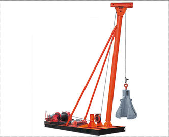 چین Punching Hammer Pile Driver Machine for Pile Foundation Construction کارخانه