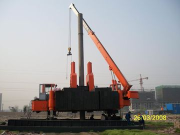 چین Customized Hydraulic Static Hammer Pile Driver for Construction Site کارخانه