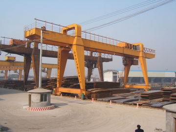 چین MG120t - 32m - 22m Double Beam Gantry Crane For Steel Factory / Port / Shipbuilding توزیع کننده